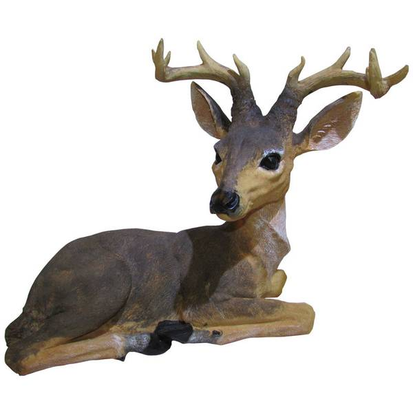 Home View Design Decorative Buck Statue