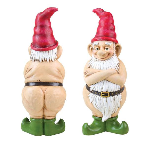 "14"" Multi-Color Naked Gnome"