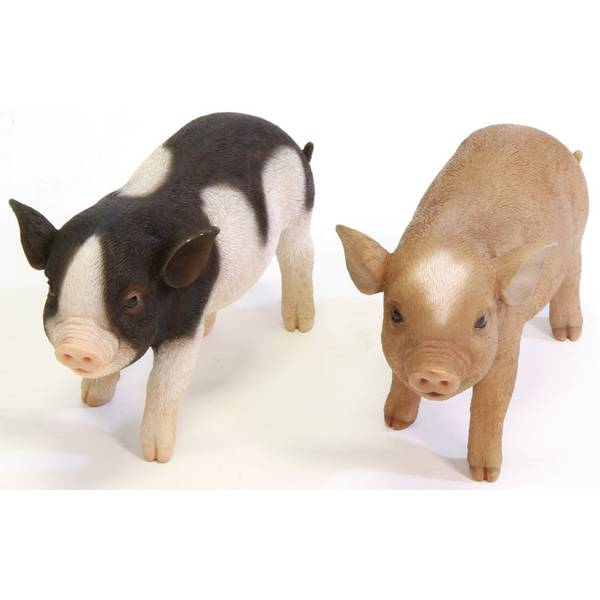 Standing Micro Pig Statue