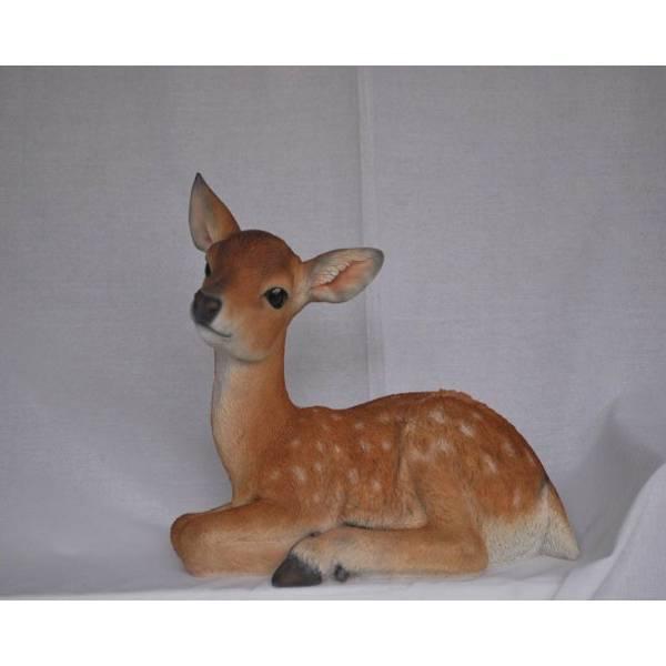 Lying Deer Statue