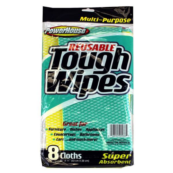 Reusable Tough Wipes