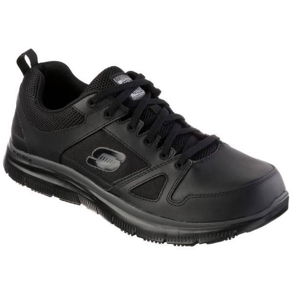 Skechers Relaxed Fit Flex Advantage Men S Slip Resistant Work Shoes