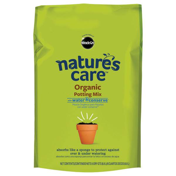 8 Quart Natures Care Potting Mix