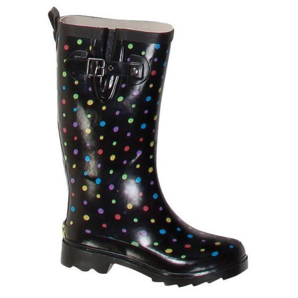 Women's  Ditsy Dot Rain Boots