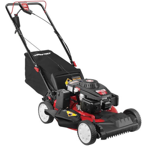 Troy Bilt 3 In 1 Electric Start Self Propelled Lawn Mower