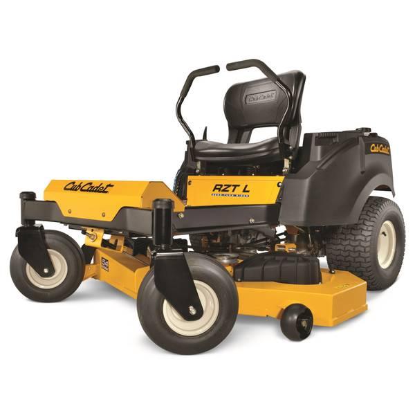 Cub Cadet Farm Tractor Parts : Cub cadet rzt lap bar zero turn quot riding lawn mower at