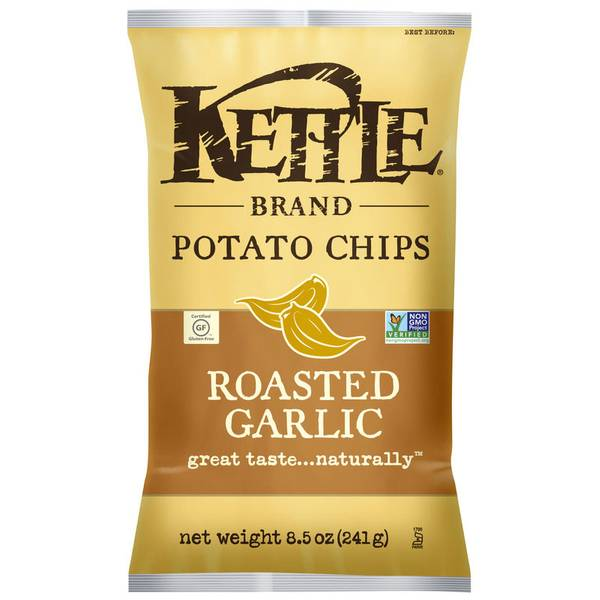 Roasted Garlic Potato Chips