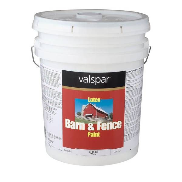 Valspar Barn Amp Fence Paint Red Latex
