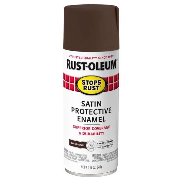 Stops Rust Satin Spray Paint