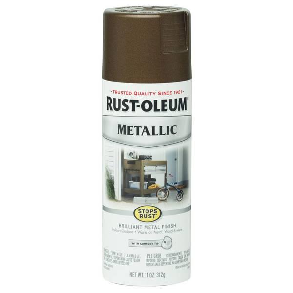 Stops Rust Metallic Vintage Copper Spray Paint
