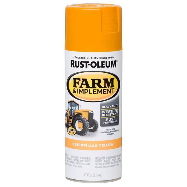 Farm & Implement Caterpillar Yellow Spray Paint