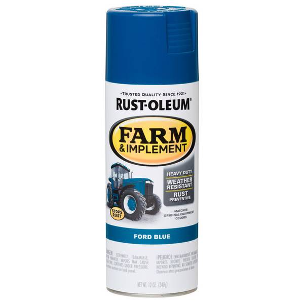 Rust - Oleum Farm & Implement Ford Blue Paint Spray