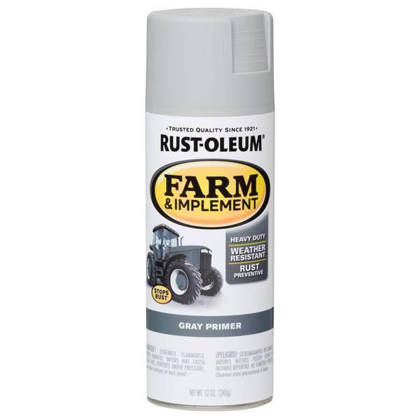 Farm & Implement Gray Primer Spray Paint