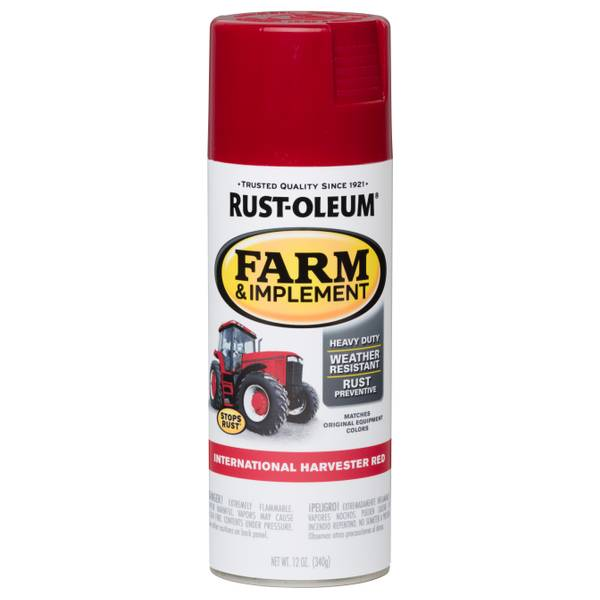 Farm & Implement International Harvester Red Spray Paint