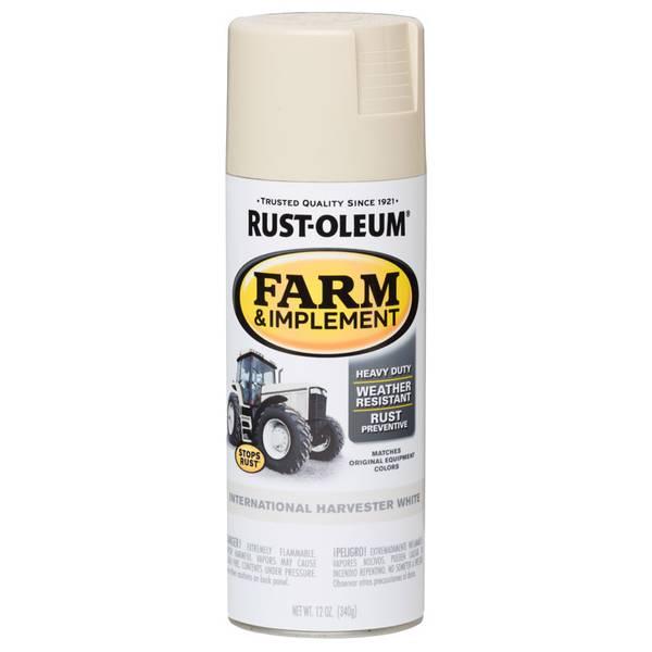 Farm & Implement International Harvester White Spray Paint