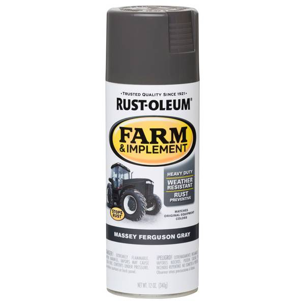 Farm & Implement Massey Ferguson Gray Spray Paint