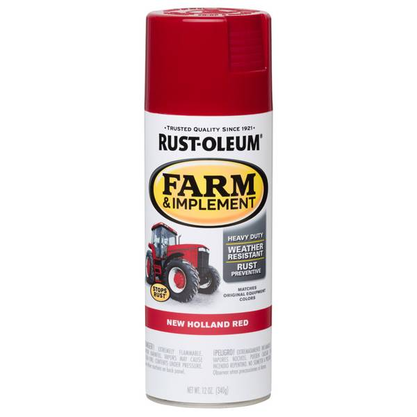 Farm & Implement New Holland Red Paint Spray