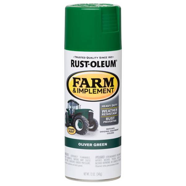 Farm & Implement Oliver Green Spray