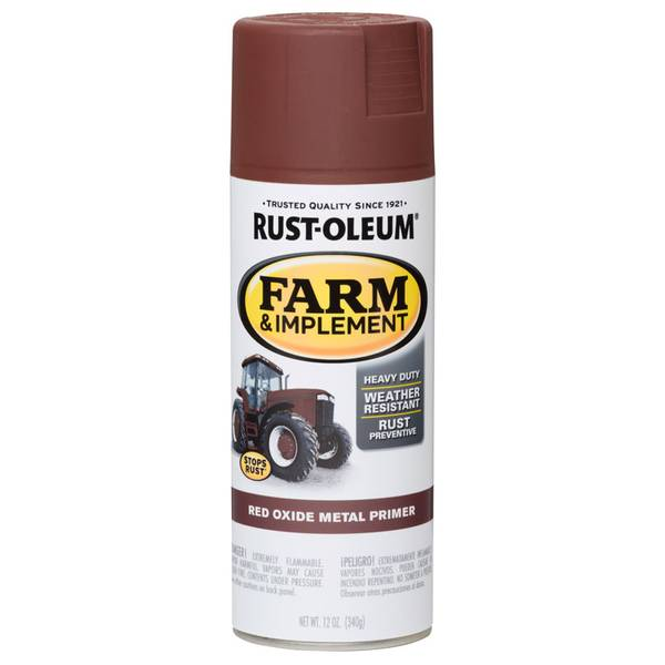 Farm & Implement Red Oxide Metal Primer Spray