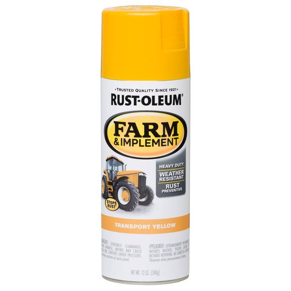 Farm & Implement Transport Yellow Spray