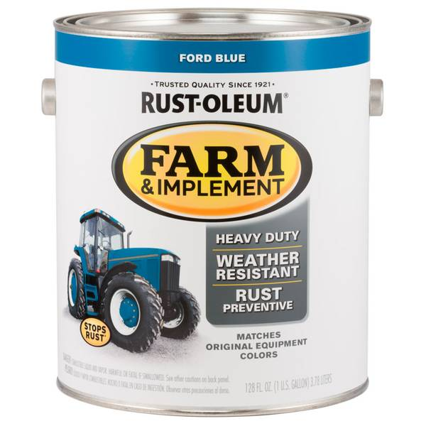 Farm & Implement Ford Blue Paint