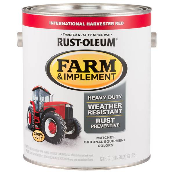 Farm & Implement International Harvester Red Paint
