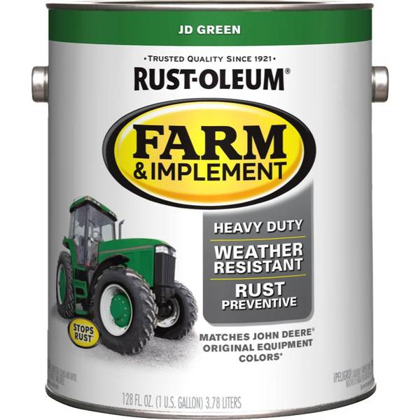 Rust Oleum Farm Amp Implement John Deere Green Paint
