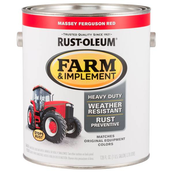 Farm & Implement Massey Ferguson Red Paint