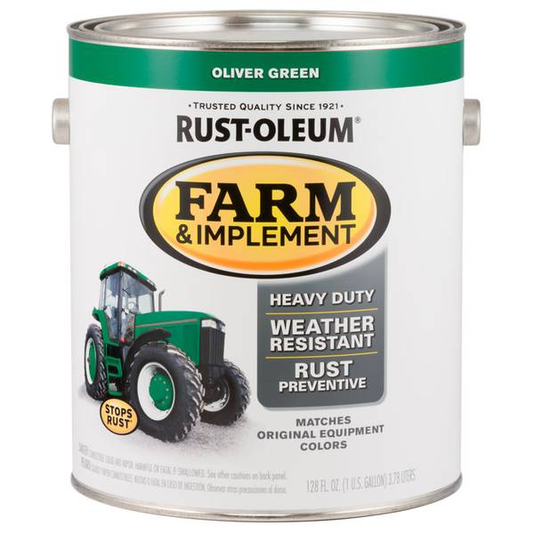 Farm & Implement Rust-Resistant Oliver Green Paint