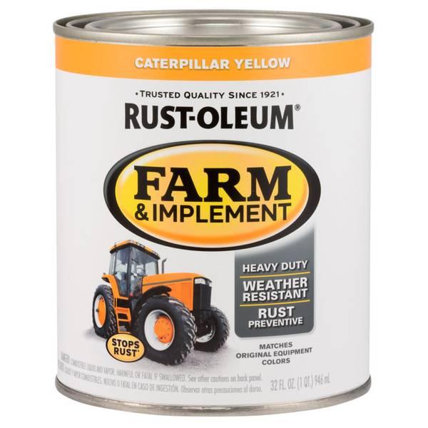 Farm & Implement Caterpillar Yellow Paint