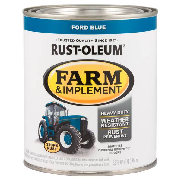Farm & Implement Ford Paint