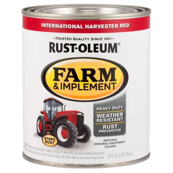 Farm & Implement International Harvester Paint