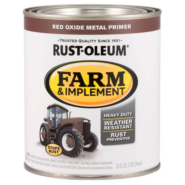 Farm & Implement Red Oxide Metal Red Primer
