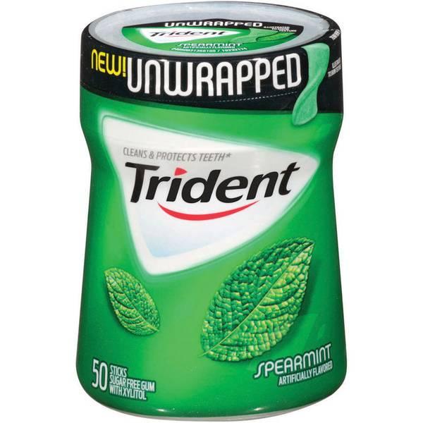 50 Count Unwrapped Spearmint Gum