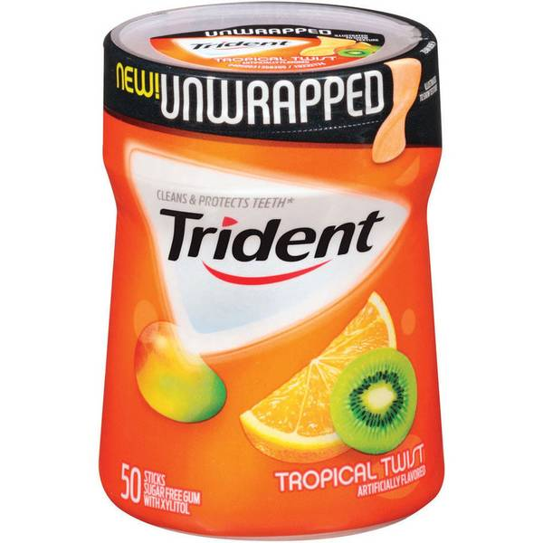 50 Count Unwrapped Tropical Gum