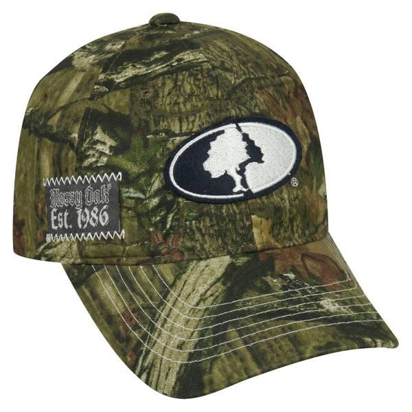 Men's Mossy Oak Patch Cap