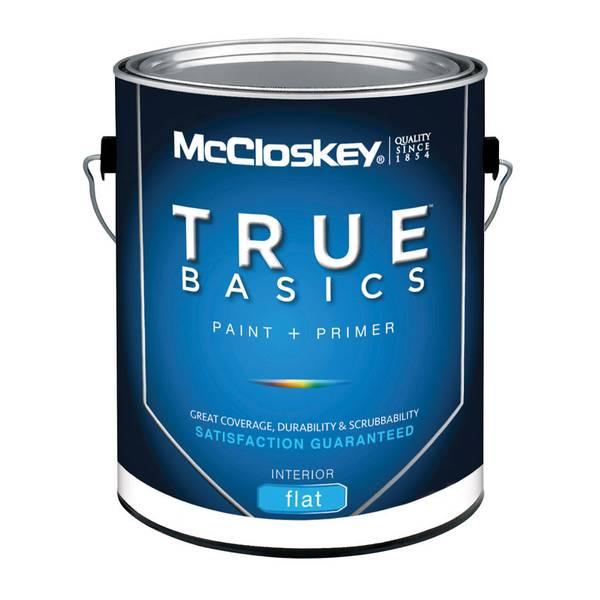 True Basics Interior Flat White Paint & Primer
