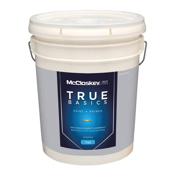 True Basics Interior Flat Pastel Base Paint & Primer