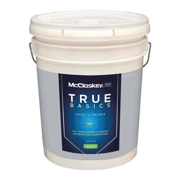 True Basics Interior Satin Pastel Base Paint & Primer
