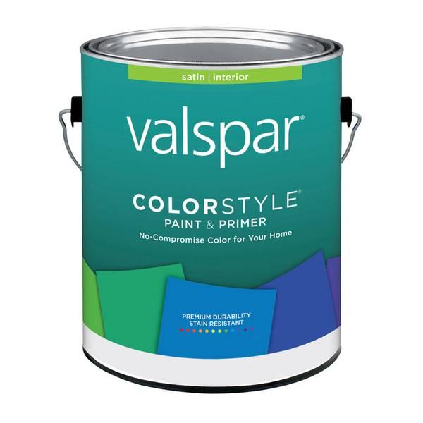 valspar colorstyle white interior latex satin enamel. Black Bedroom Furniture Sets. Home Design Ideas
