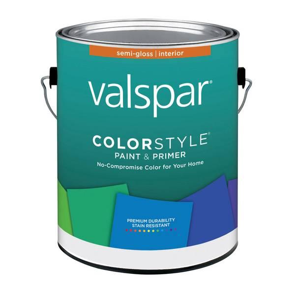 valspar color style interior semi gloss pastel base. Black Bedroom Furniture Sets. Home Design Ideas