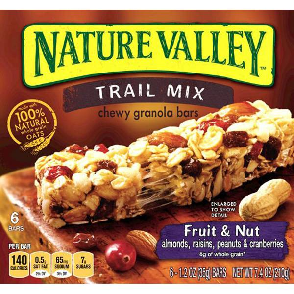 Trail Mix Fruit & Nut Blend Chewy Granola Bars