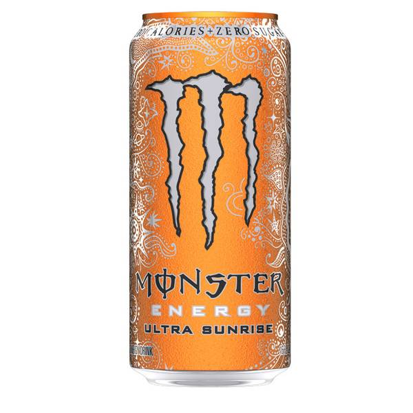 16 oz Monster Ultra Sunrise