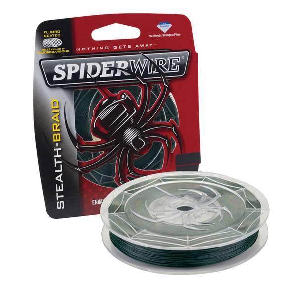 SpiderWire Moss Green Stealth-Braid Fishing Line