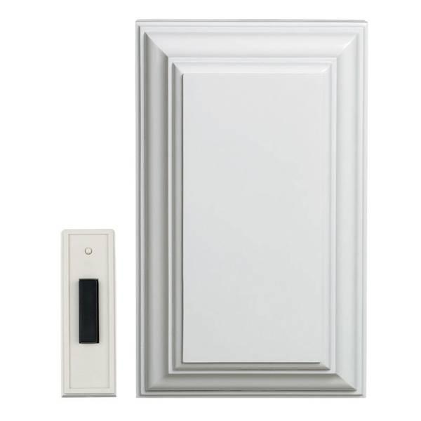 White Wireless Door Chime