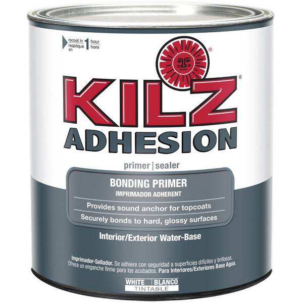 Kilz Adhesion Interior Exterior Water Base Bonding Primer