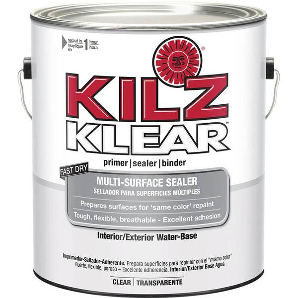 Kilz Klear Interior Exterior Water Base Primer Sealer