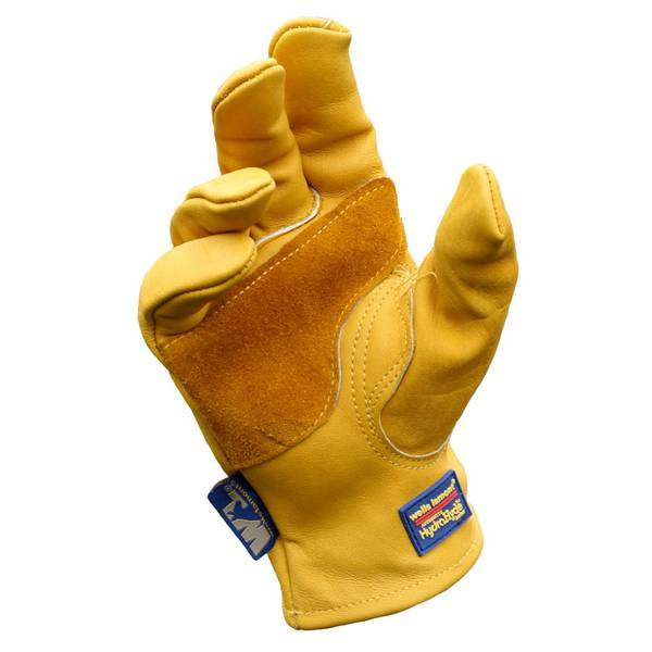 Men's Hydrahyde Cowhide Gloves with Palm Patch