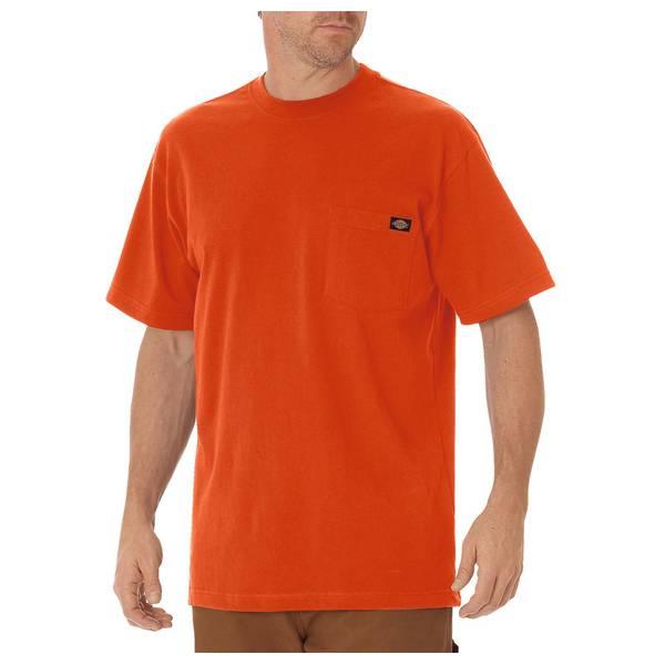 6be7d72b Dickies Men's Short Sleeve Heavyweight Pocket Tee