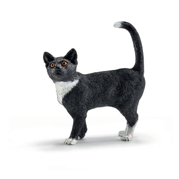 Cat Standing Figurine